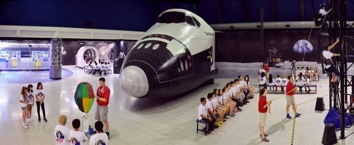 uzay uçuşu eğitim programı kampı