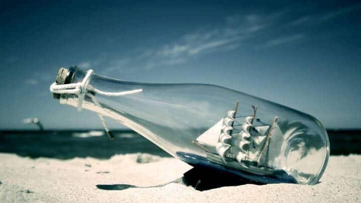 cam şişeye gemi nasıl yapılır