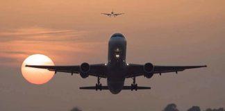 Uçak kalkış anı