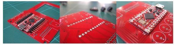 Piccolo PCB Montajı