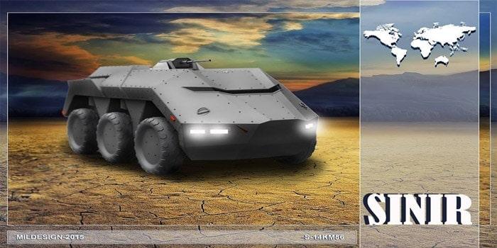 askeri araç projesi sınır