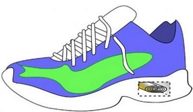 Piezo etkili ayakkabı