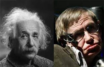 einstein ve hawking