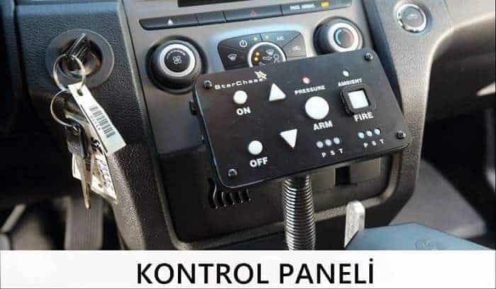 araç takip sistemi kontrol paneli