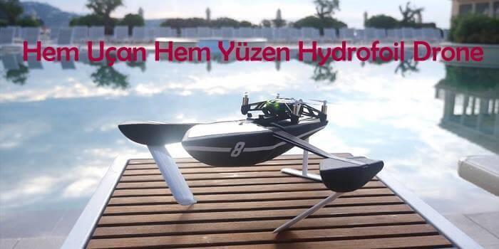 Hydrofoil Drone