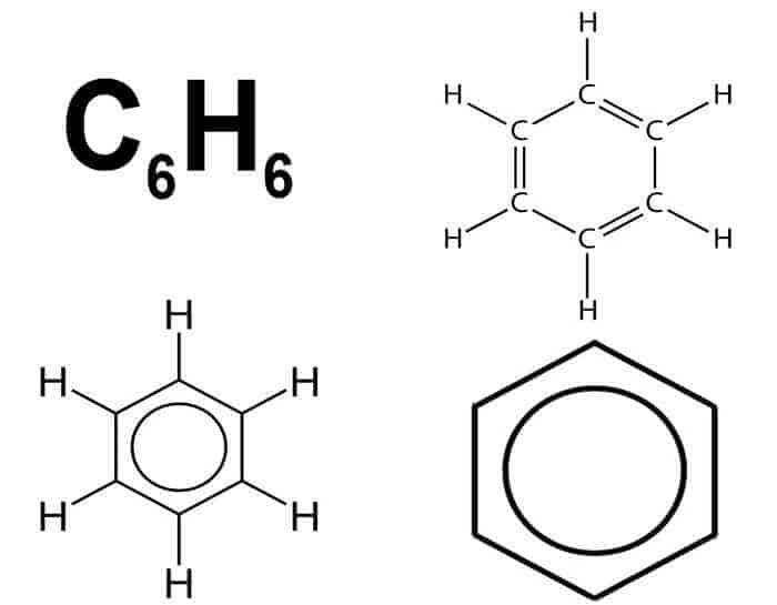 benzen formülü hidrokarbonlar örneği