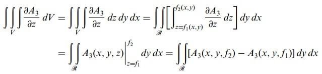 diverjans teoremi denklemi