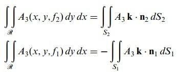 diverjans teoremi denkleminin diverjans-teoremi-denkleminin, diverjans teoremi