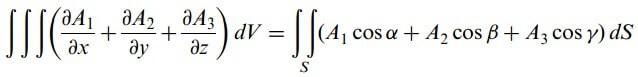 diverjans teoremi formül