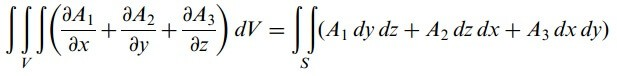 diverjans teoremi formülü