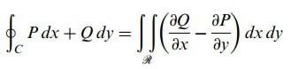 düzlemde green teoremi ispatı