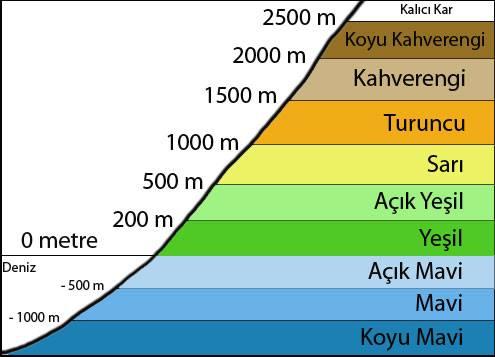 haritacılık gösterme biçimleri