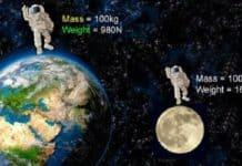 kütle nedir, kütle dönüşümleri, kütle ve ağırlık arasındaki fark