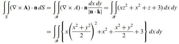 stokes teoremi formülleri