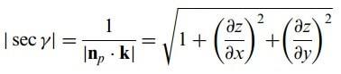 yüzey integralleri büyüklüğü