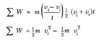 kinetik enerji formül