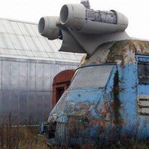 sovyet Turbojet Tren