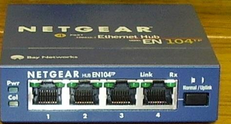 4 port ethernet hub