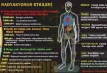 radyasyonun etkileri