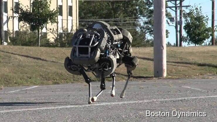 Theo Jansen Mekanizması Boston Dynamics