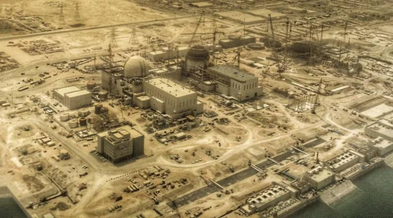Birleşik Arap Emirlikleri Barakah Nükleer Santralinde İnşaat Hızla Devam Ediyor.jpg