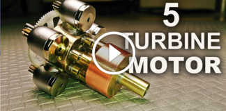 model-5-turbinli-pnomatik-motor
