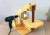 El yapımı Şerit Zımpara Makinası