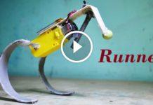 Basit Zıplayan Koşu Robotu Yapımı