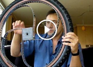 Darbe Emici Bisiklet Tekerleği