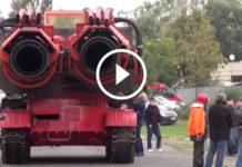 Dünyanın En Büyük Yangın Söndürme Aracı