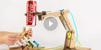 Hidrolik Robot Kol Yapımı