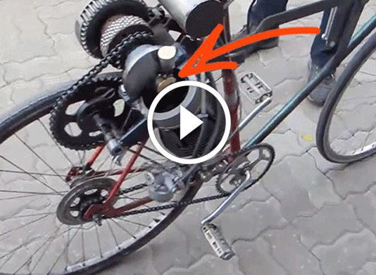motorlu bisiklet