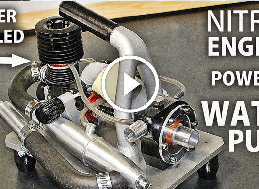 Nitro Motorlu Su Pompası