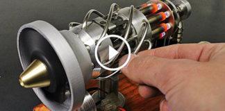 16 Silindirli Gazlı Stirling Motoru Yapımı