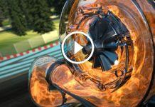 Formula 1 V6 Turbo Motor