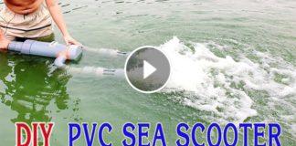 PVC Boru Kullanarak Deniz Skuterı Yapımı