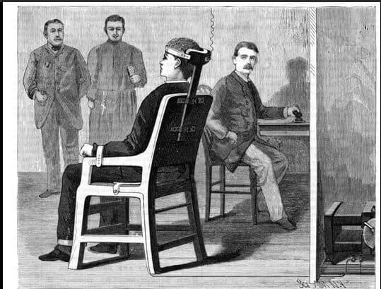 akım savaşları elektrikli sandalye