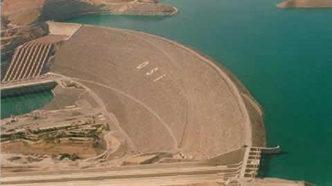 toprak barajı
