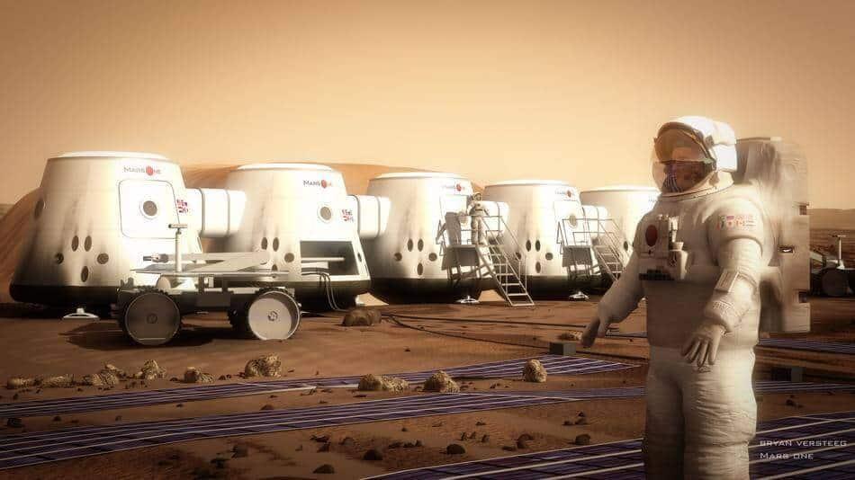 mars one astronautu