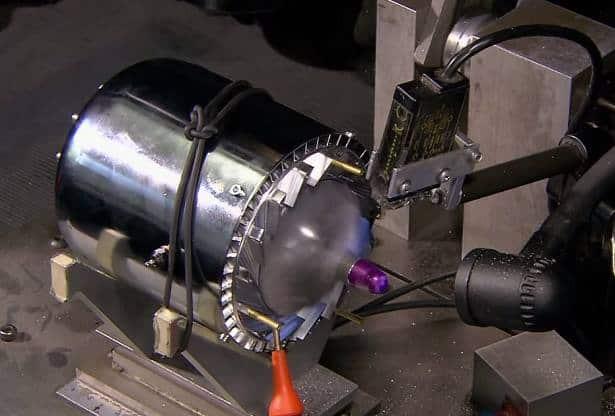 jet motoru testi