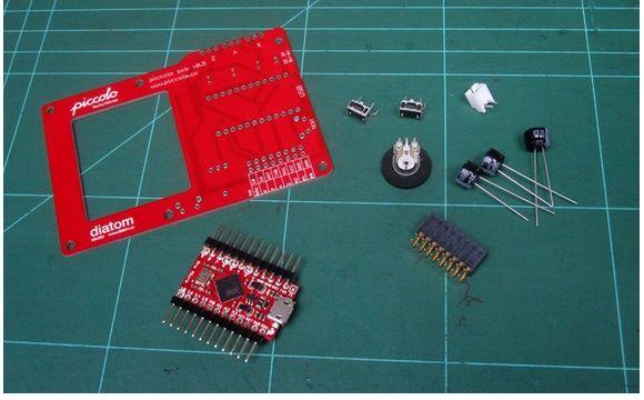 Piccolo PCB v0.9 Montajı