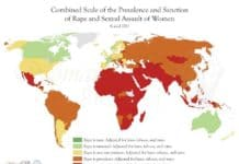 ülkelere göre tecavüz oranları