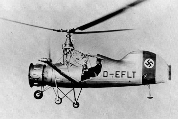 Nazi helikopteri