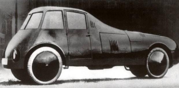 İlk aerodinamik yapılı araçlar