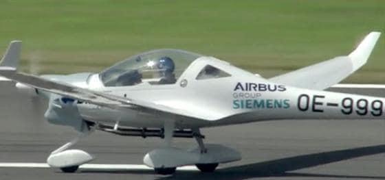 DA36 E-Star 2 Elektrikli Uçak