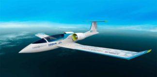 Elektrikli Uçak E-Fan
