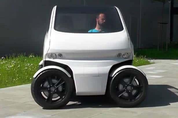 geleceğin şehir arabası