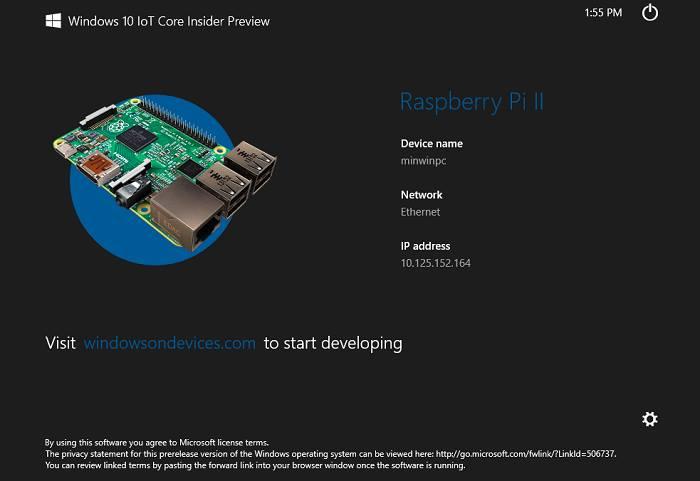 Windows 10 IoT Core Insider nedir