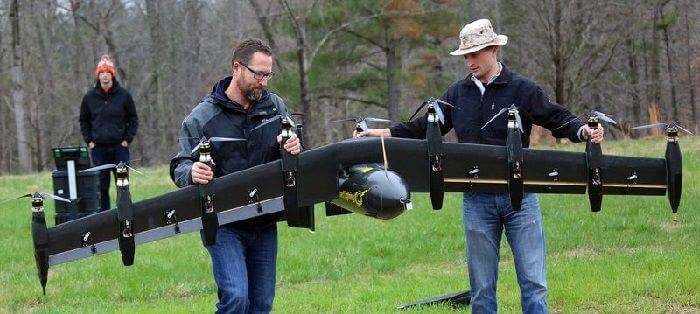 NASA 10 motorlu hibrid drone