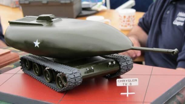 Chrysler-TV-8-nükleer enerji ile çalışan tank